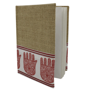 Indha Craft Handmade Recycled Paper Jute Diary