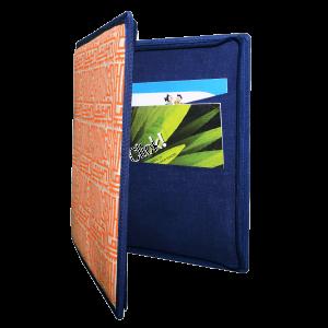 Indha Craft Hand Block Printed Executive Conference File Folder/Document Holder