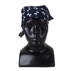 Indha Craft Cotton Hand Block Printed Self Design Bandana for Men/Women
