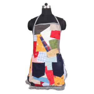 Indha Craft Cotton Patchwork Apron