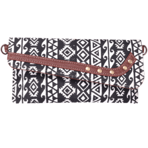 Indha Craft Hand Block Printed Ethnic Sling Clutch Purse for Girls/Women