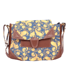 Indha Craft Floral Print Stylish Cross Body/Sling Bag for Girls/Women