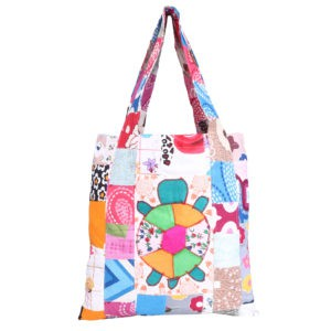 Indha Craft Multicolour Shopping Bag/ Grocery Bag