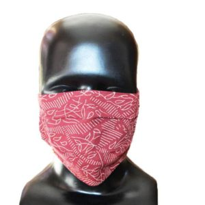 Indha Craft Hand Block Printed Breathable Cotton Mask (Set of 10)