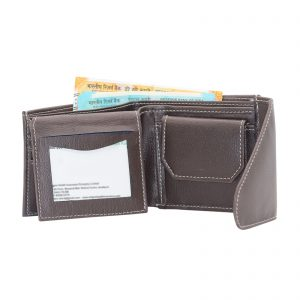 Indha Craft Brown Colour Artificial Leather Wallet for Men