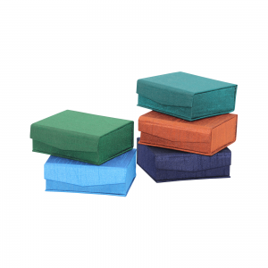 Indha Craft Multicolour Handmade Small Gift Boxes (Set of 5)