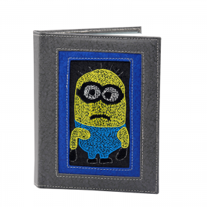 Indha Craft Minions Embroidered Artificial Leather Regular Diary