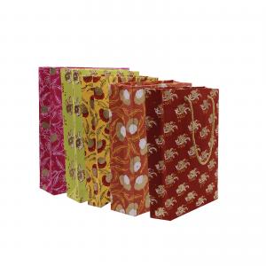 Indha Craft Hand Block Printed Decorative Girt Party Bag
